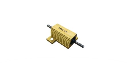 Arcol 25 Watts Al Housed 22 Ohms ±1% E3 Thread (30)
