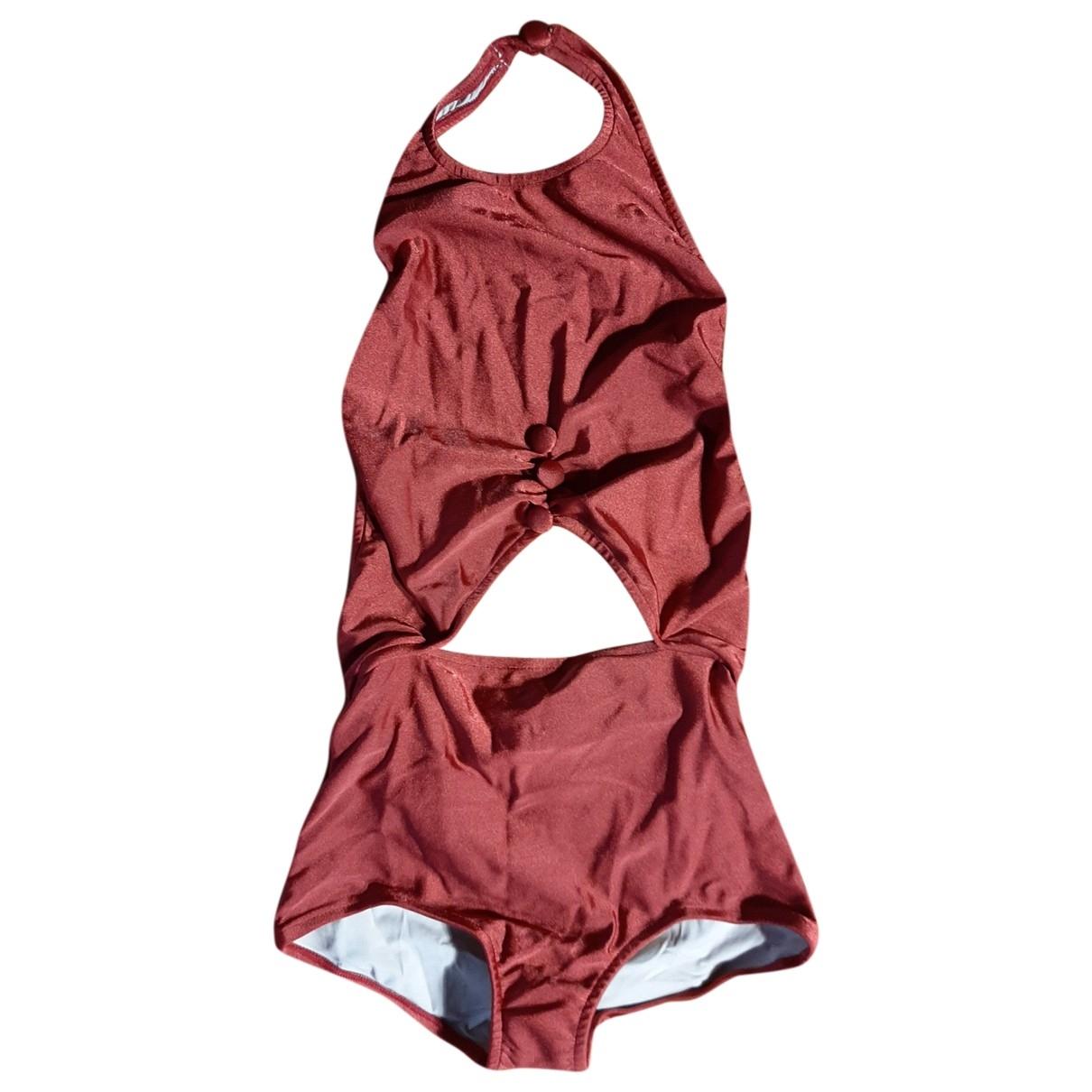 Adriana Degreas \N Burgundy Swimwear for Women 1 0-5