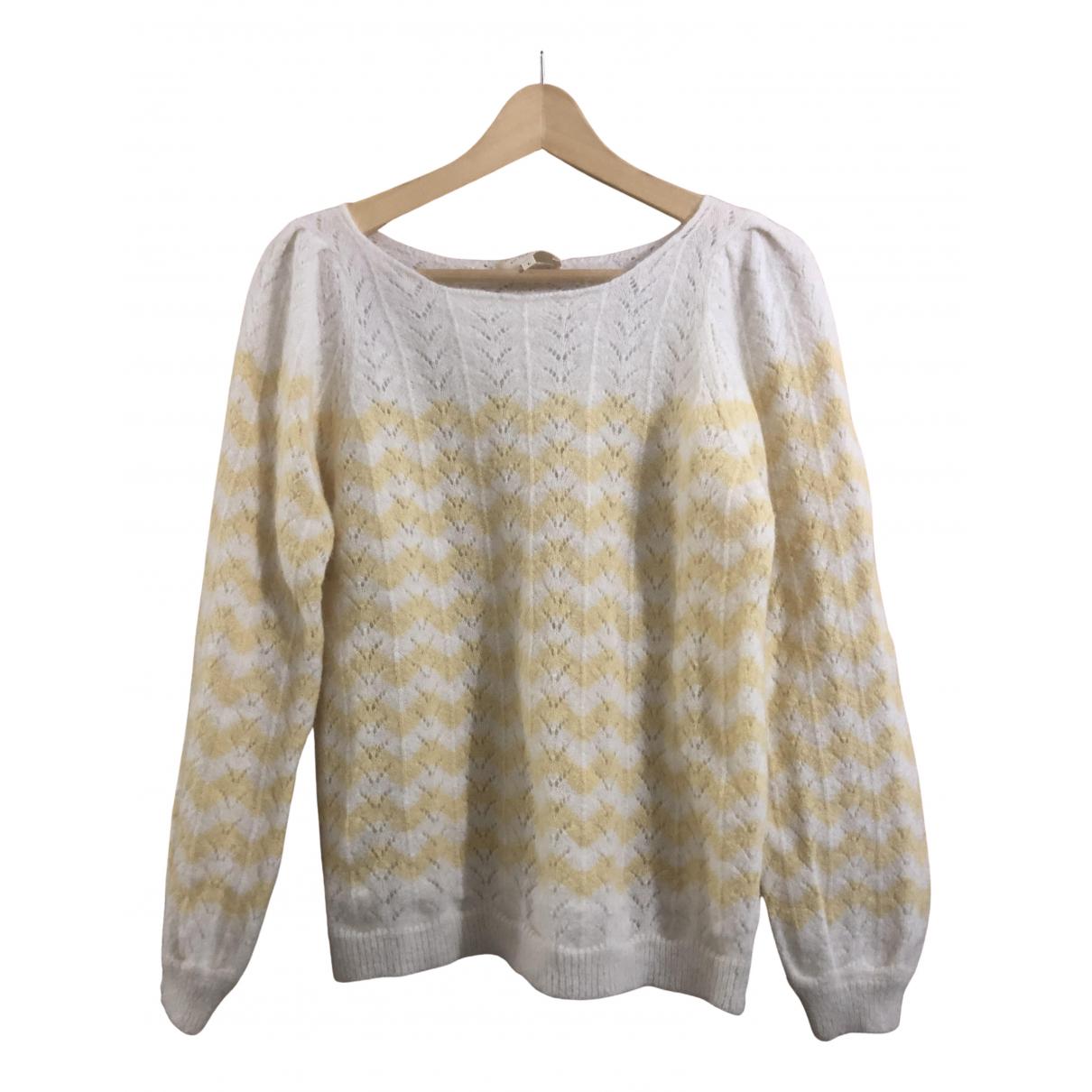 Sezane - Pull   pour femme en laine - multicolore