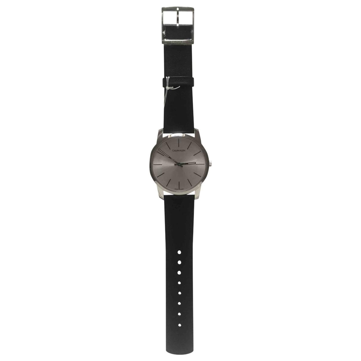 Calvin Klein N Black Steel watch for Men N