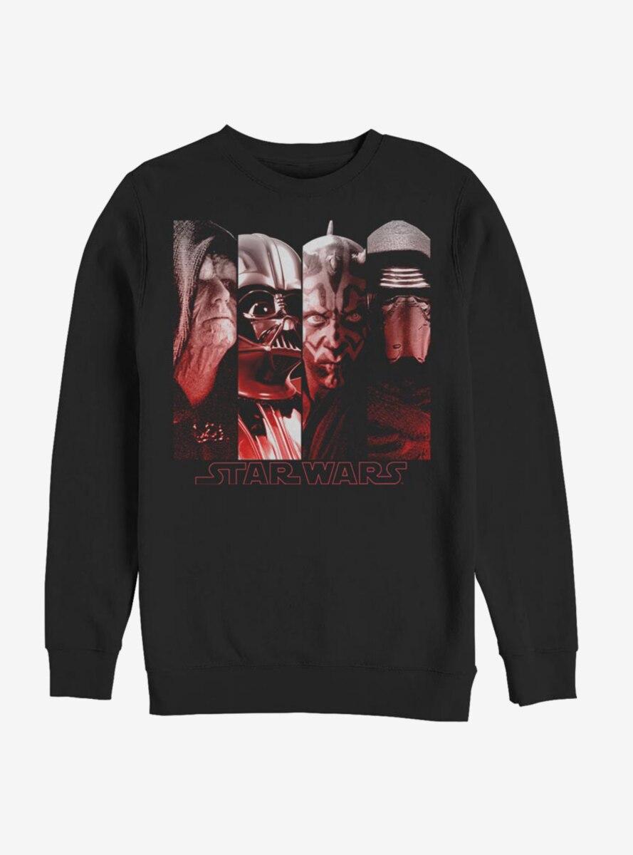 Star Wars Sith Villains Sweatshirt
