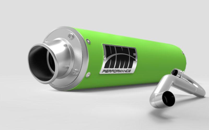 HMF Racing 27354626571 Kawasaki ZX-14 Exhaust Systems Green