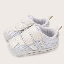 Baby Boy Velcro Strap Mesh Panel Sneakers