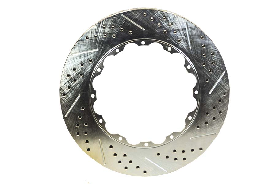 Baer Brakes Rotor Ring Replacement 14 Inch 1.15 Inch Thick Plain No Zinc Drivers Side