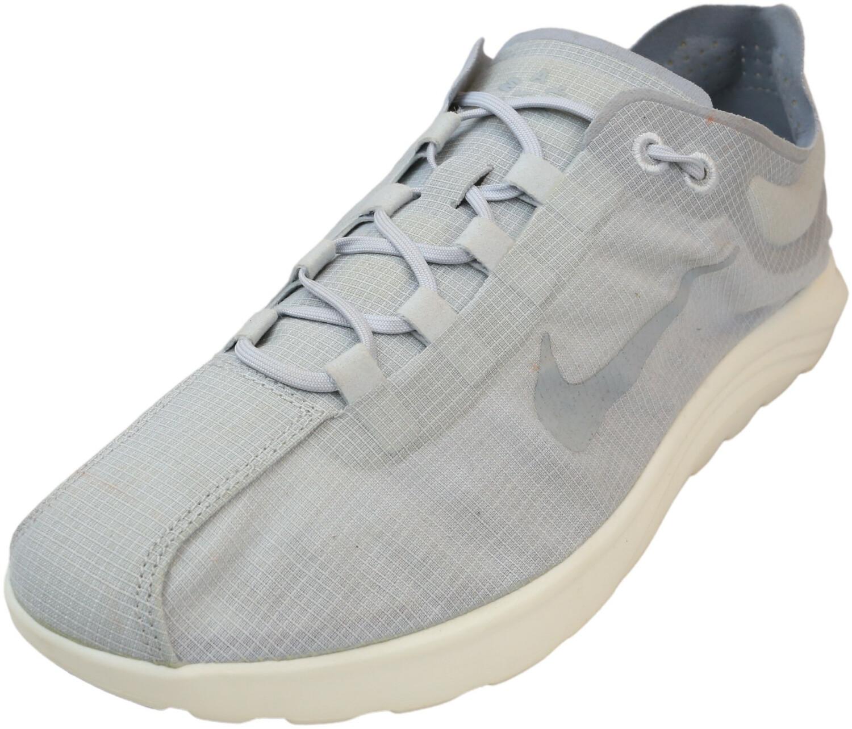 Nike Women's Mayfly Lite Grey Ankle-High Sneaker - 9M