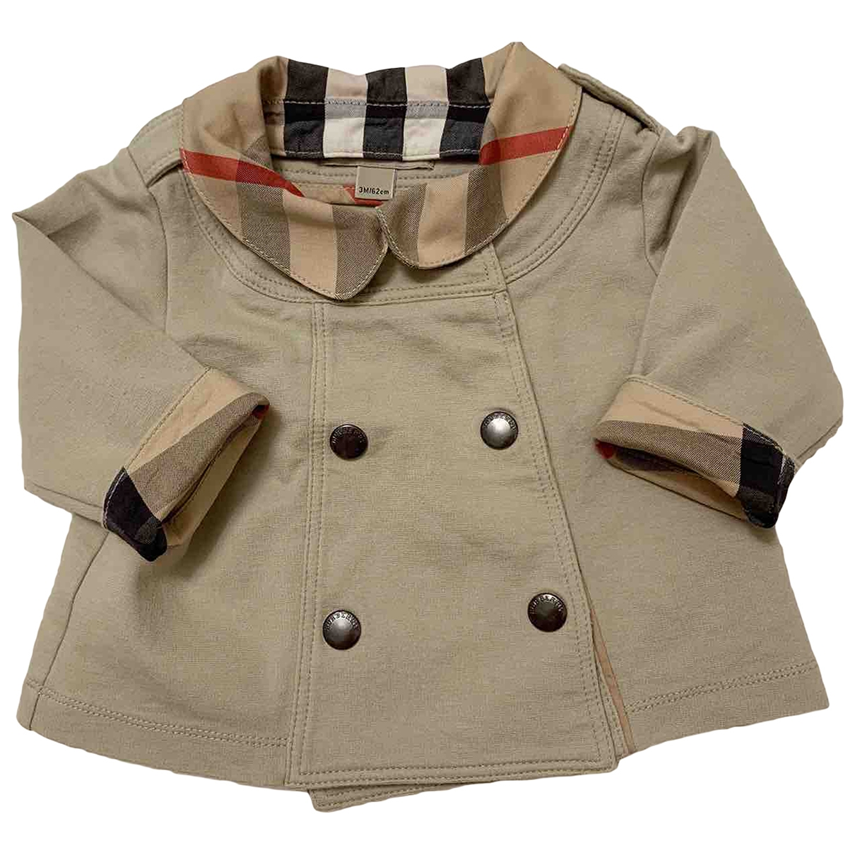 Burberry \N Cotton jacket & coat for Kids 3 months - until 24 inches UK