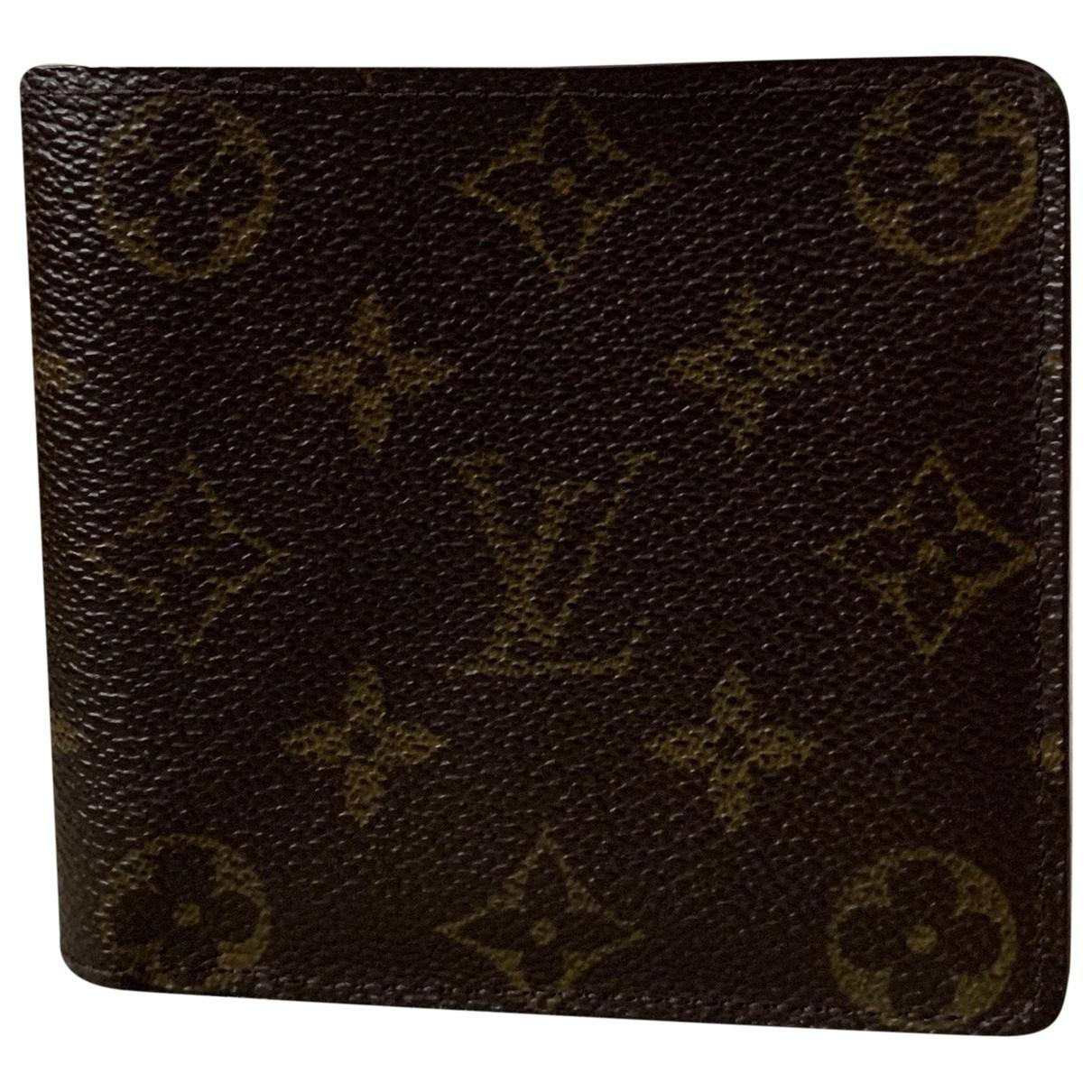 Louis Vuitton - Portefeuille   pour femme en toile - multicolore