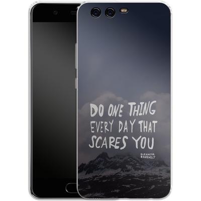 Huawei P10 Silikon Handyhuelle - Scares You von Leah Flores