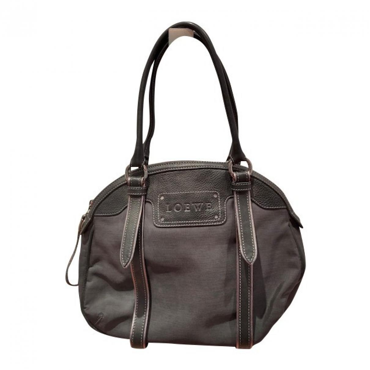 Loewe \N Black Fur handbag for Women \N