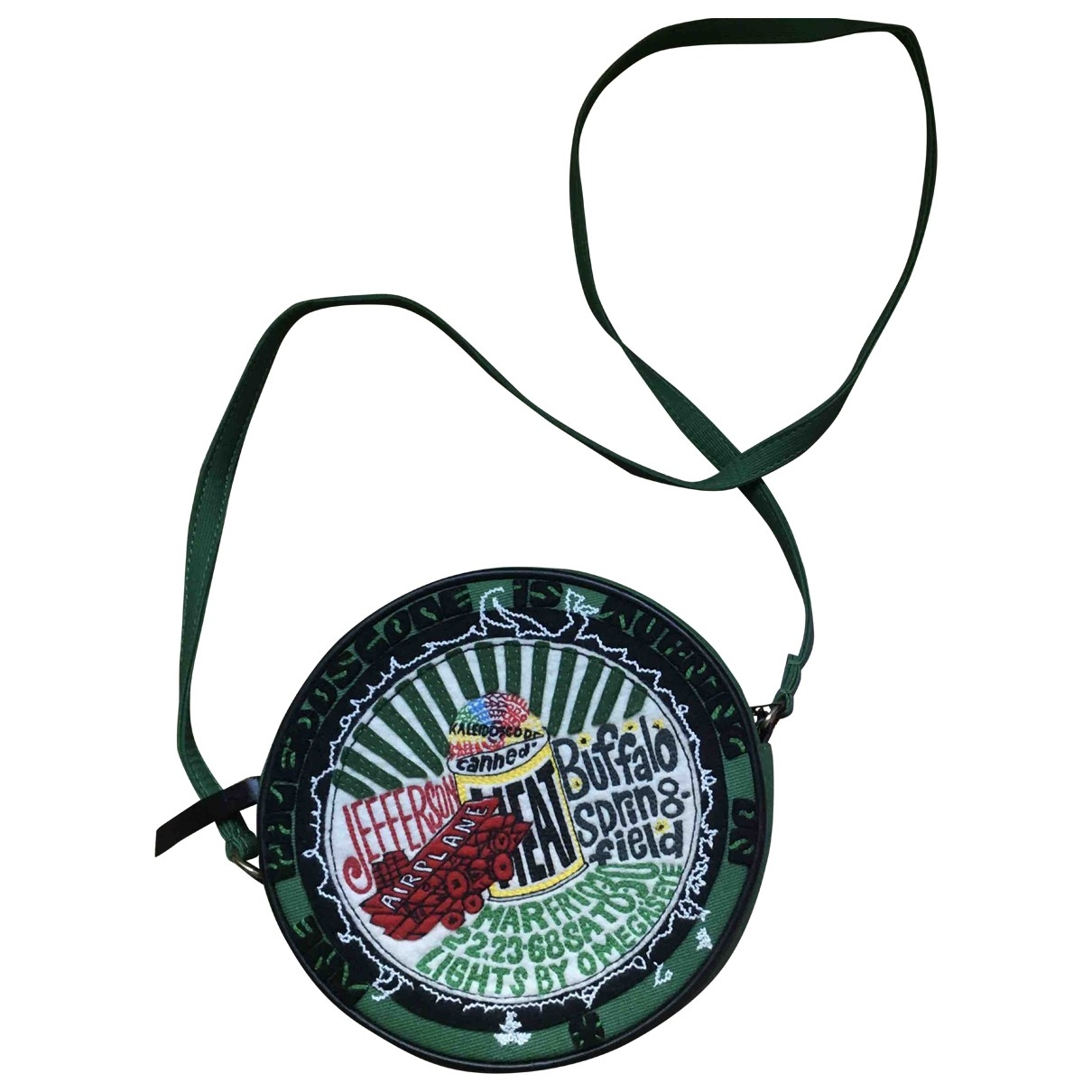 Olympia Le Tan \N Green Cotton handbag for Women \N