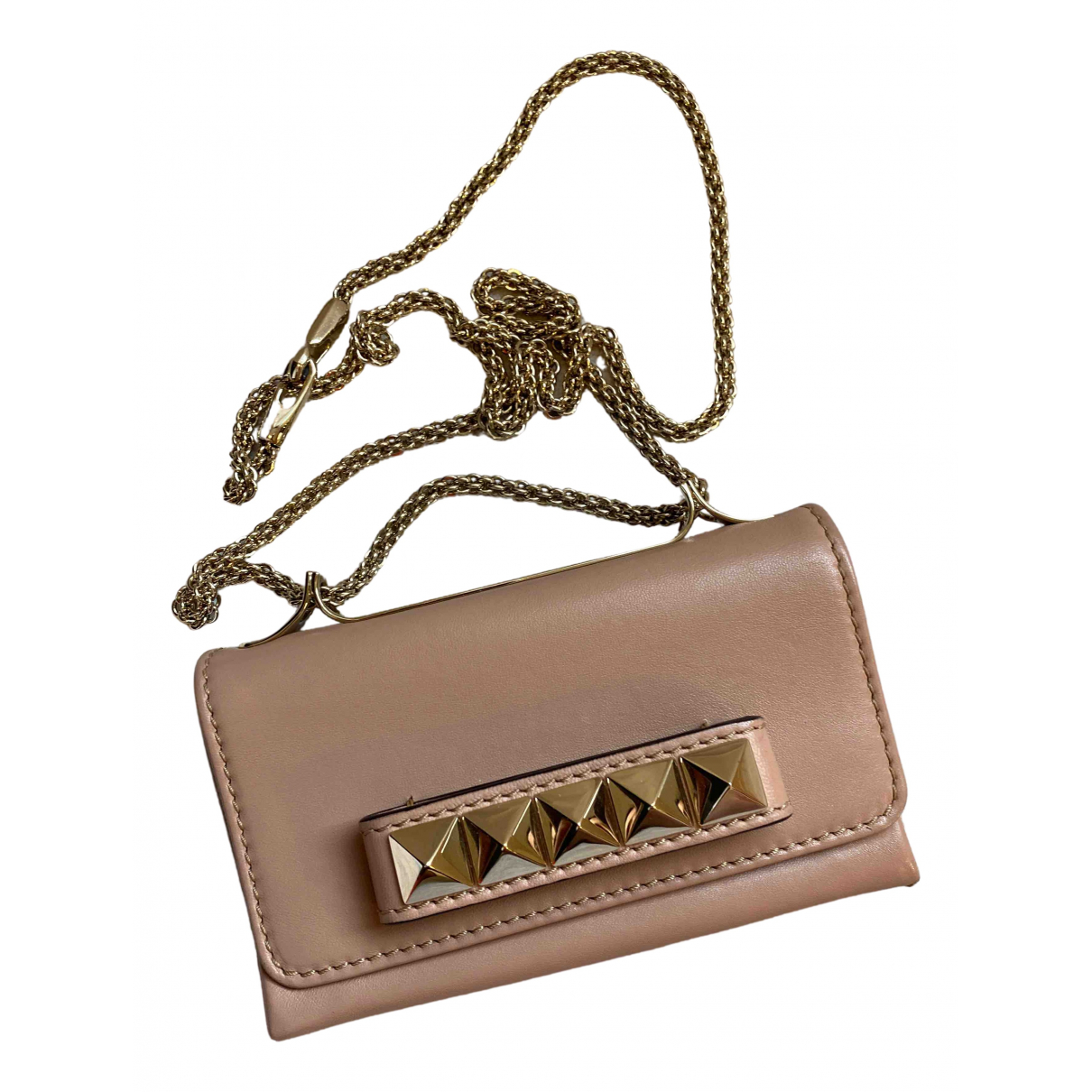 Valentino Garavani Vavavoom Pink Leather handbag for Women N
