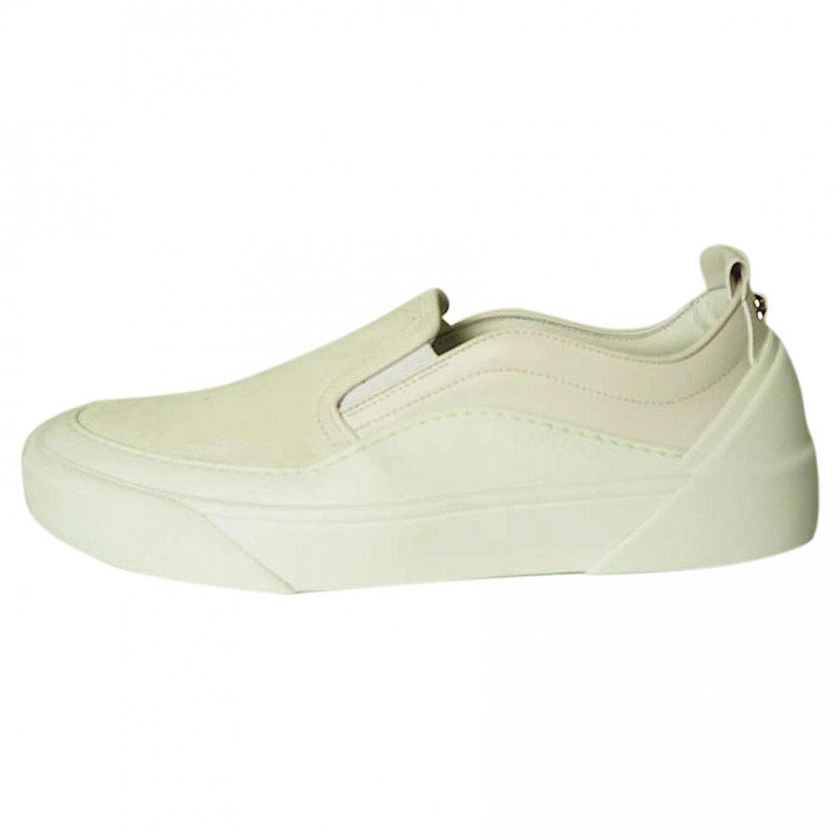 Jimmy Choo \N Sneakers in  Weiss Leder