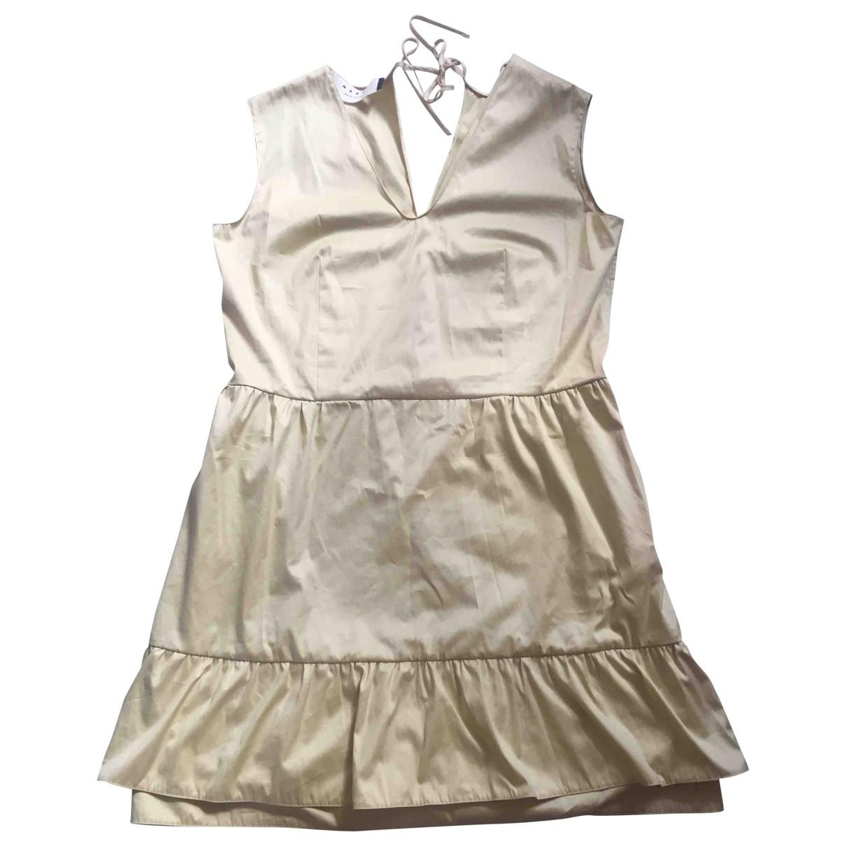 Marni - Robe   pour femme en coton - jaune