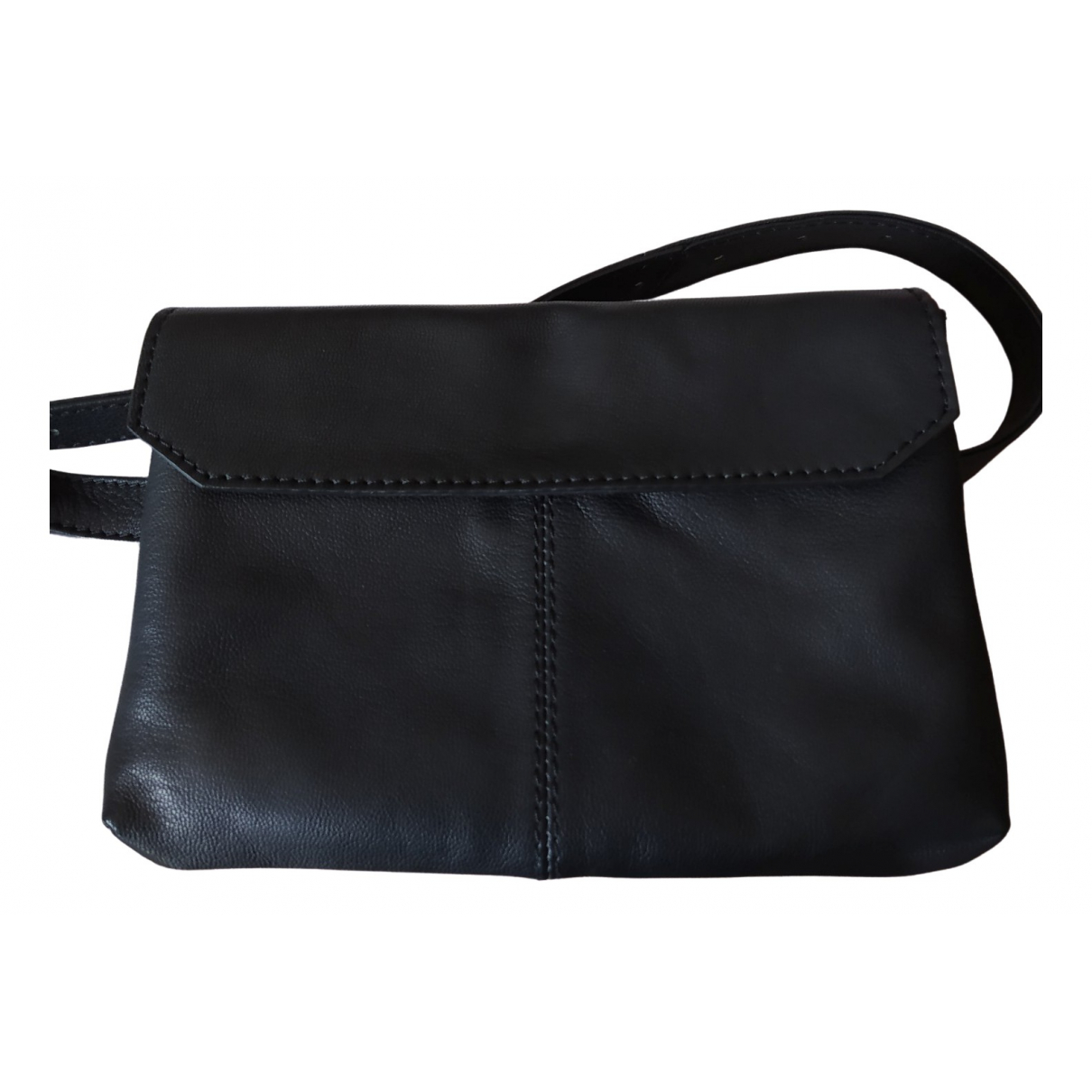 Non Signé / Unsigned Hippie Chic Black Leather Purses, wallet & cases for Women \N