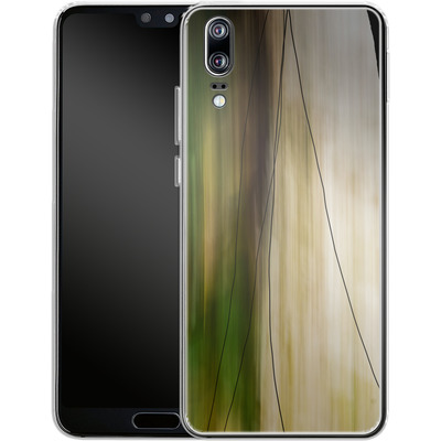 Huawei P20 Silikon Handyhuelle - Breathe von Joy StClaire