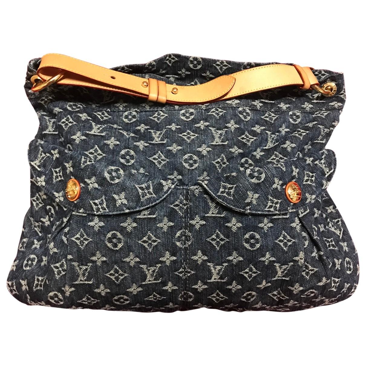 Louis Vuitton Daily Blue Denim - Jeans handbag for Women \N