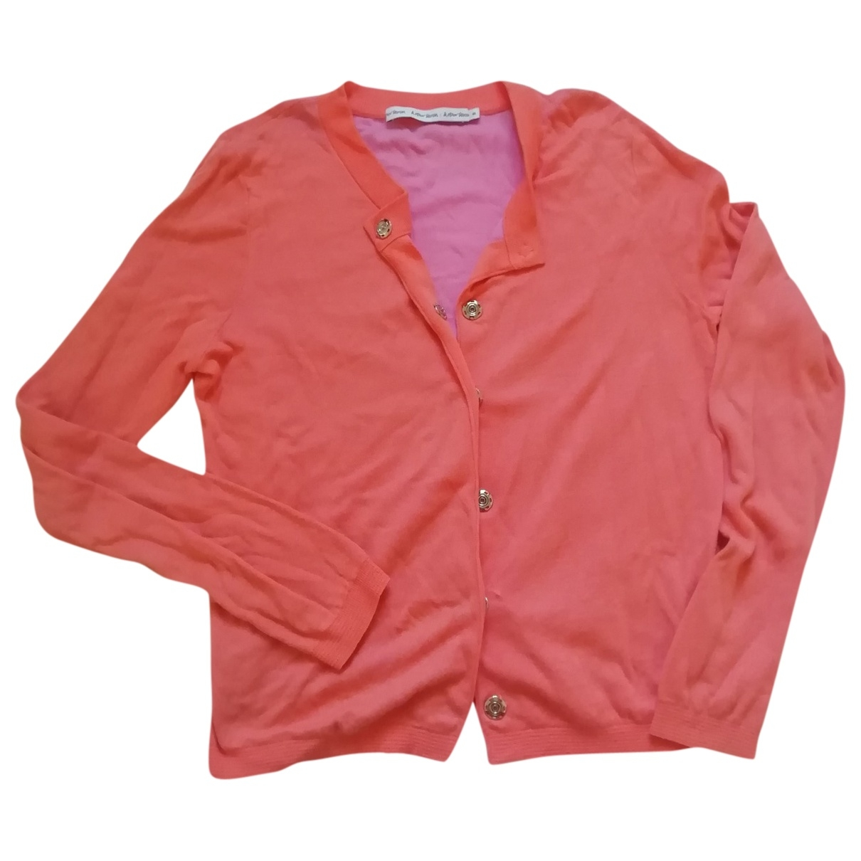 & Stories \N Orange Cotton Knitwear for Women S International