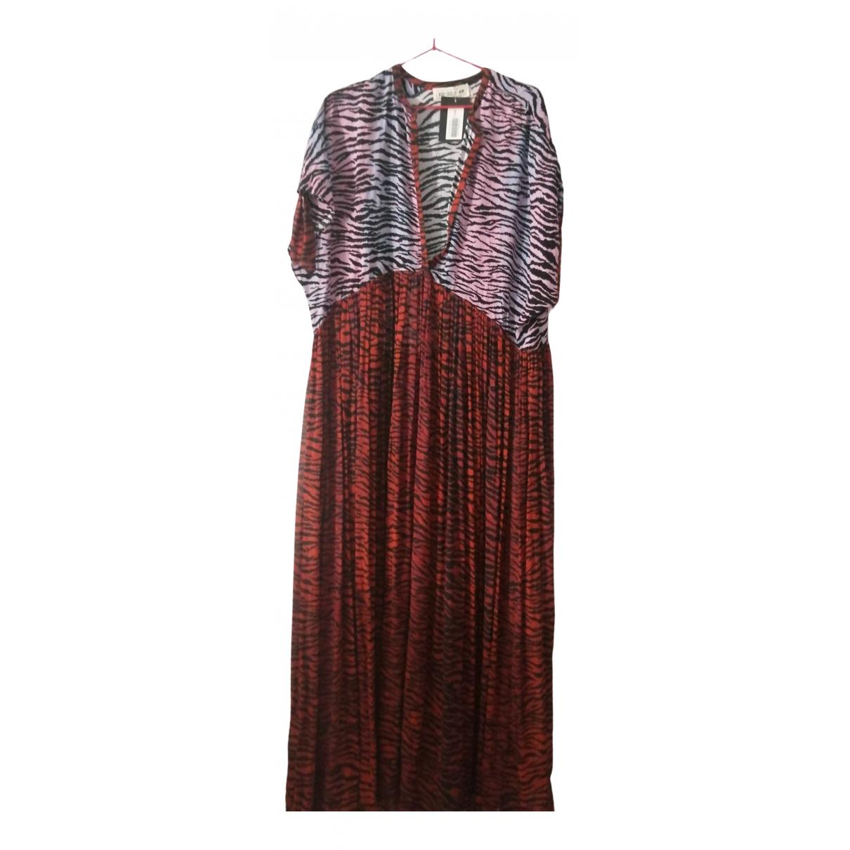 Kenzo X H&m \N Kleid in  Bunt Baumwolle