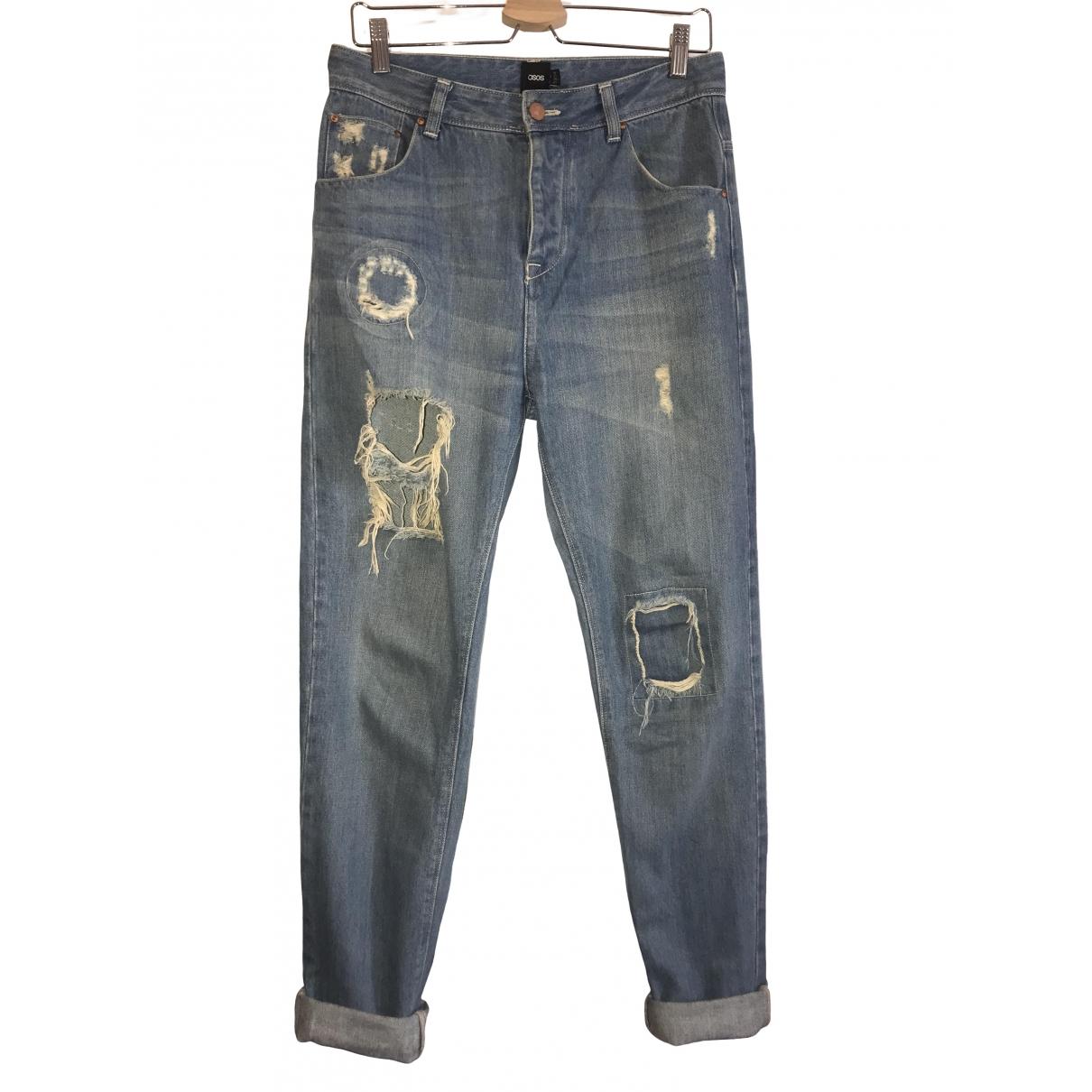 Asos \N Blue Cotton Jeans for Women 30 US