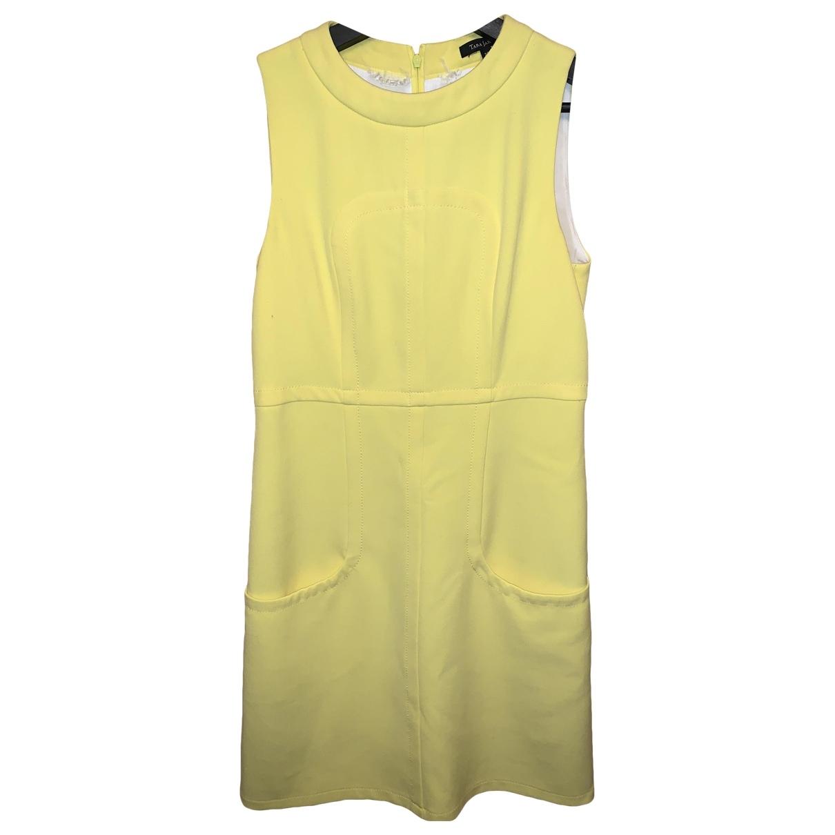 Tara Jarmon \N Kleid in  Gelb Polyester