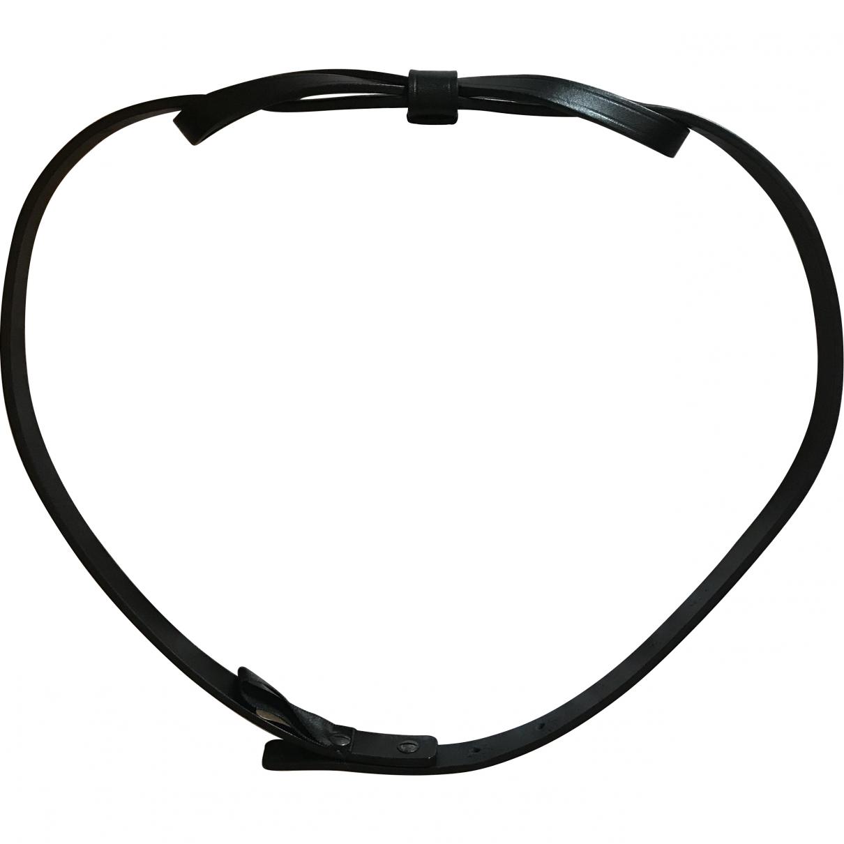 Lanvin \N Black Leather belt for Women M International