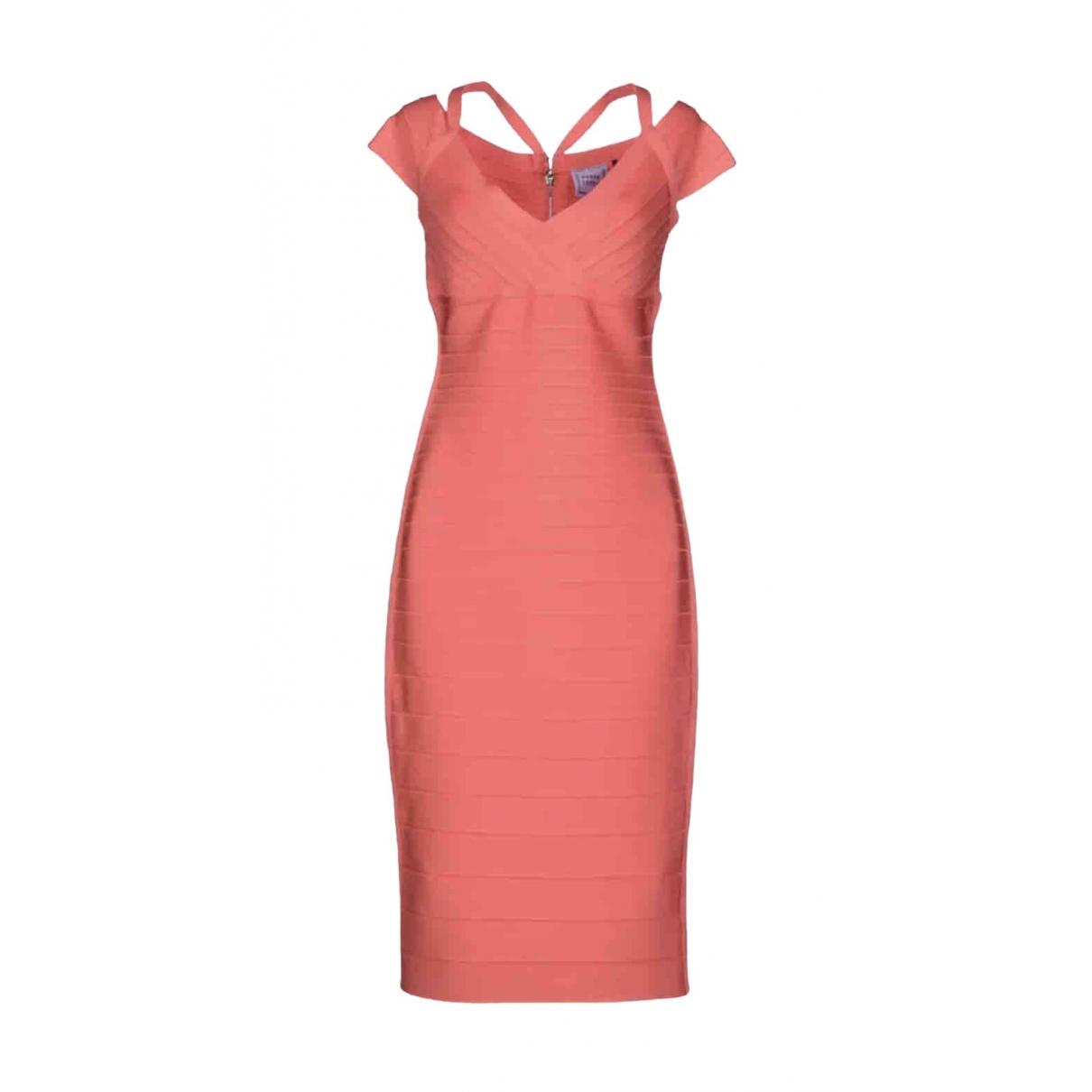 Herve Leger \N Purple dress for Women M International
