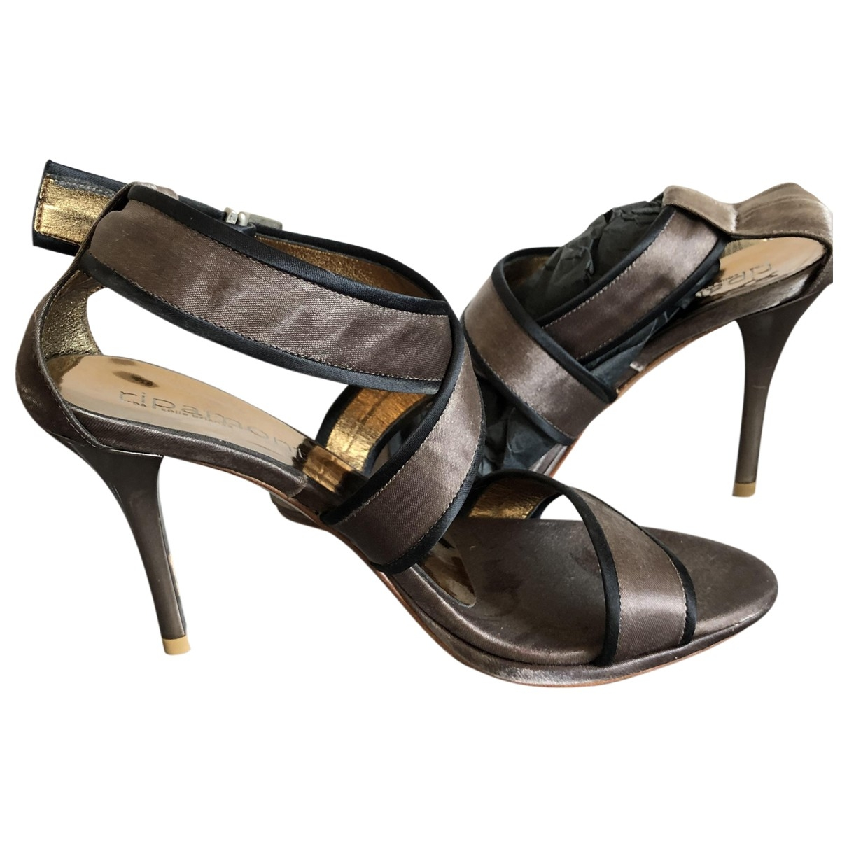 Non Signé / Unsigned \N Brown Leather Heels for Women 36 EU