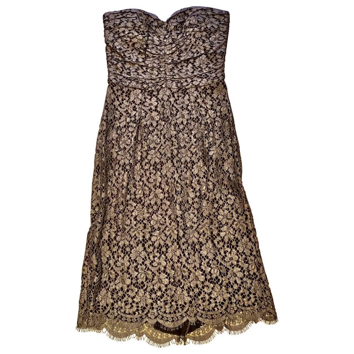 Dolce & Gabbana \N Kleid in  Grau Baumwolle