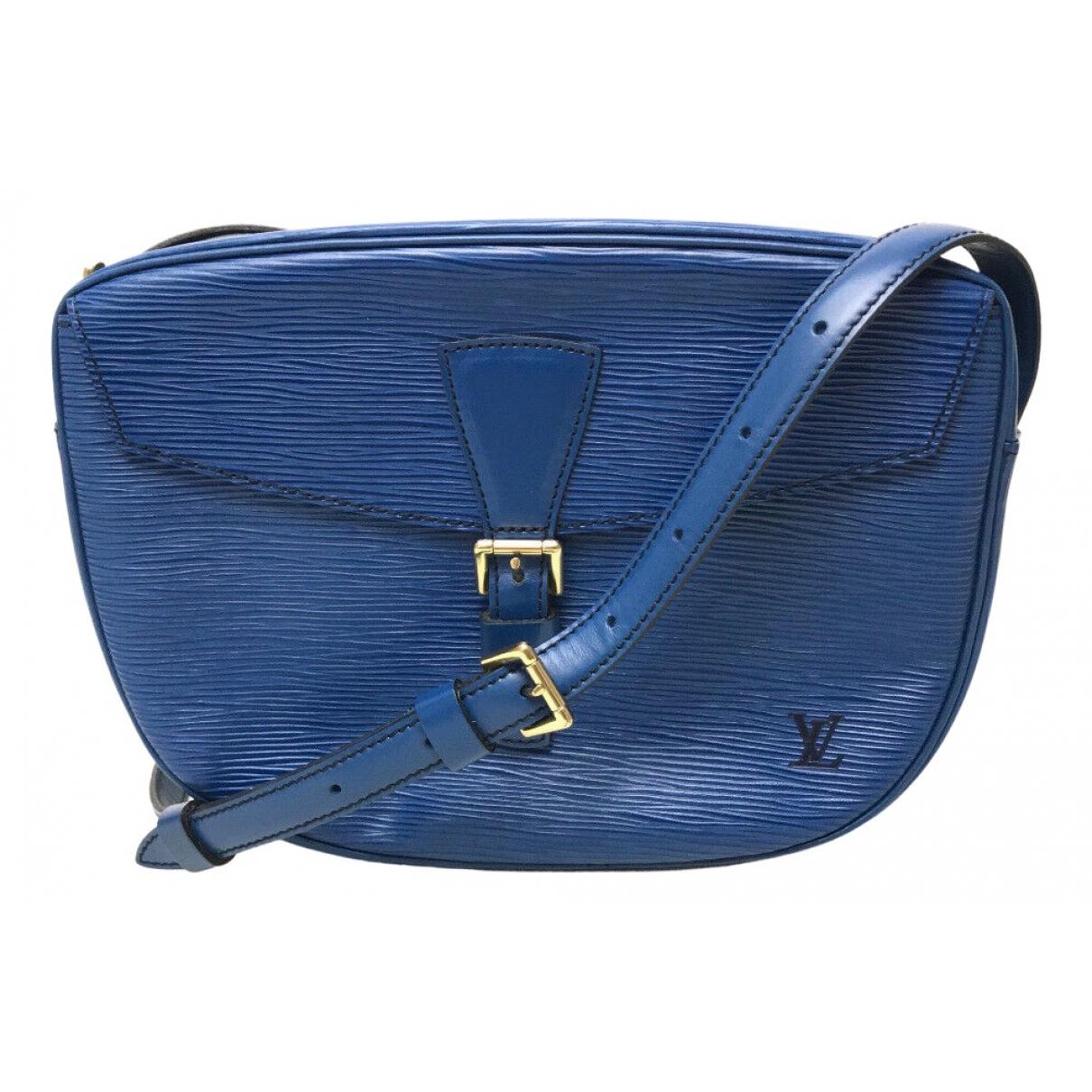 Louis Vuitton - Sac a main Jeune fille  pour femme en cuir - bleu