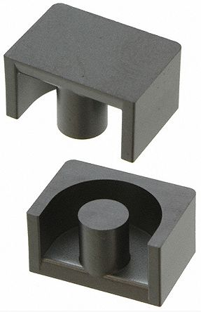 EPCOS N87 Ferrite Core, 1600nH, 12.8 x 9 x 13mm, For Use With Power Transformers (10)