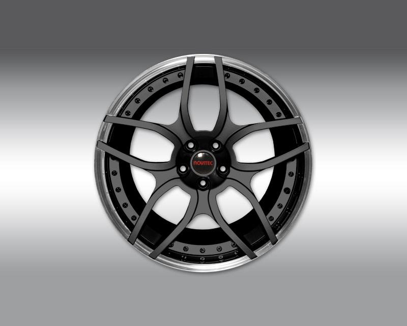 Novitec L4 111 04 NL1 Forged Rear Wheel Black 21x13 Lamborghini Aventador 12-19