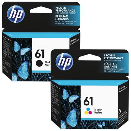 HP 61 CH561WN CH562WN cartouche d'encre originale combo noire et tri-couleur