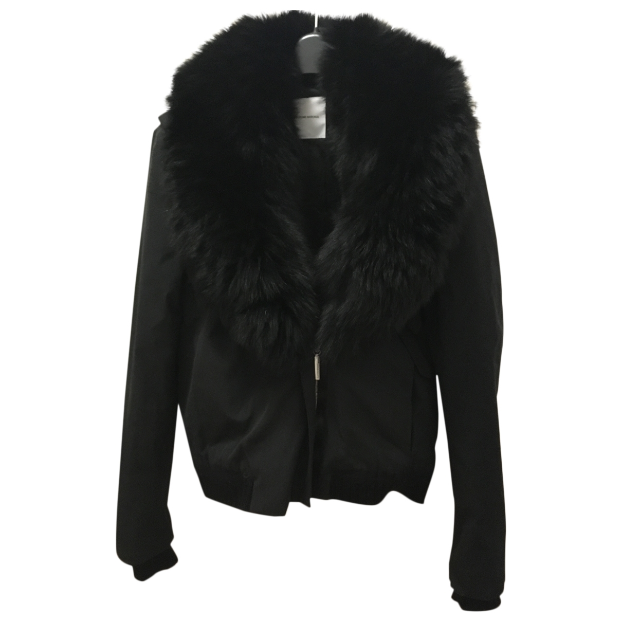 Costume National \N Black Cotton jacket for Women 46 IT