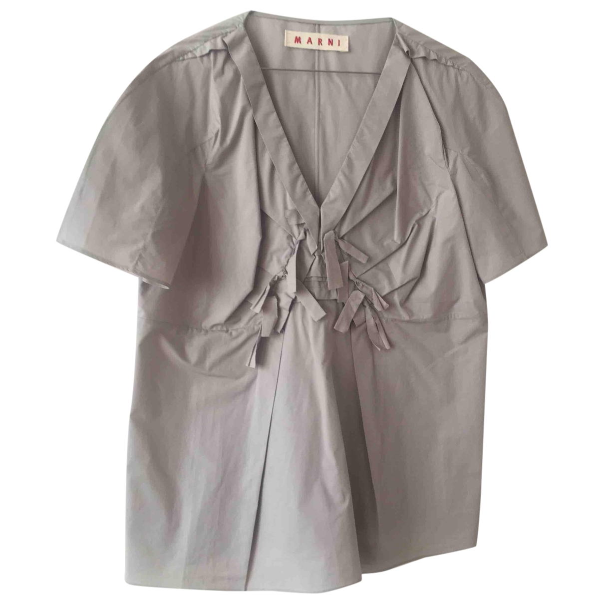 Marni \N Grey Cotton  top for Women 44 IT