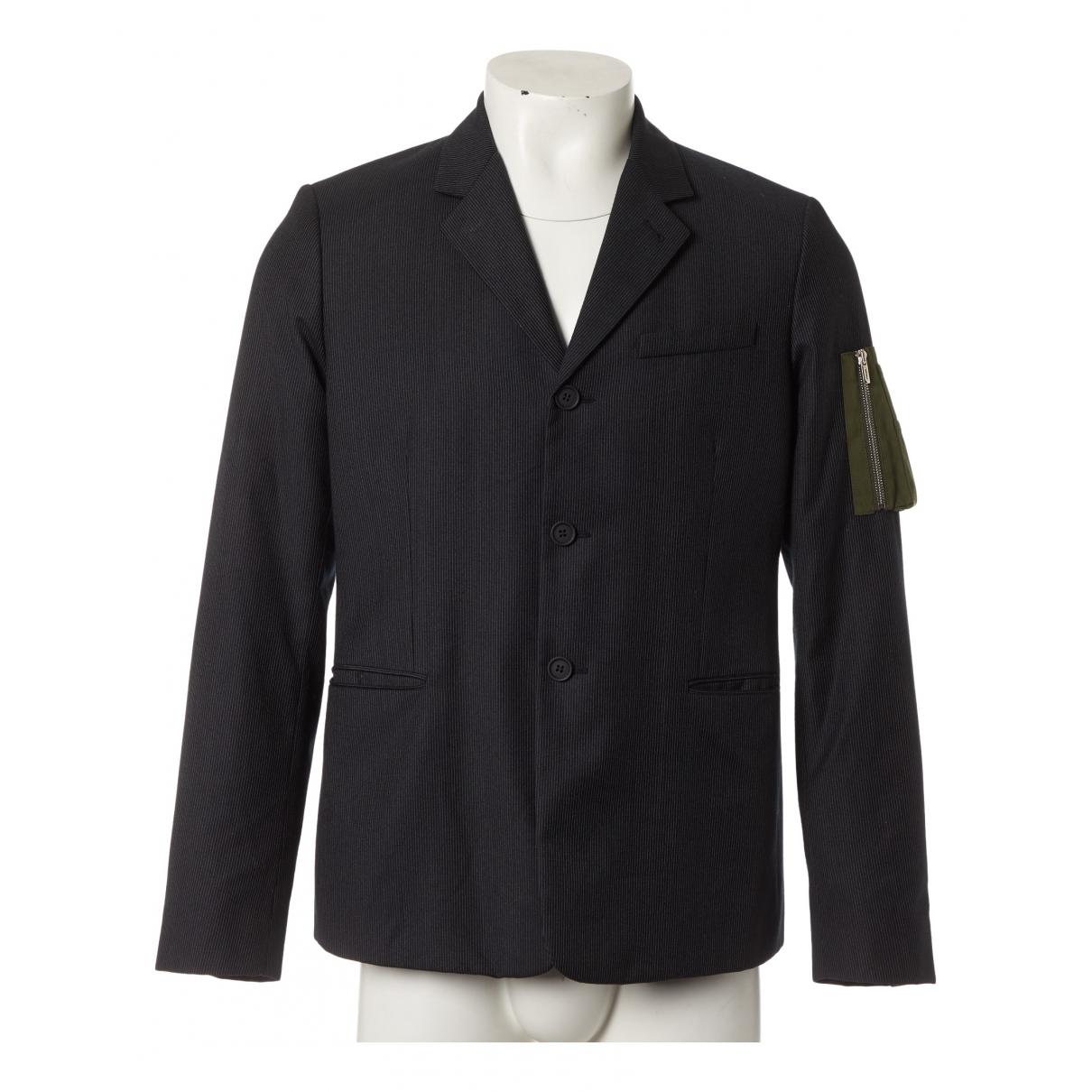 Dior - Vestes.Blousons   pour homme en laine - anthracite