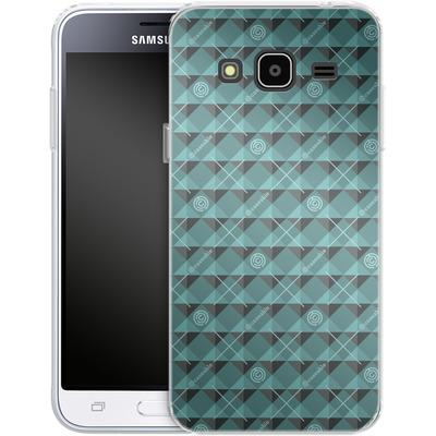 Samsung Galaxy J3 (2016) Silikon Handyhuelle - caseable Pattern von caseable Designs