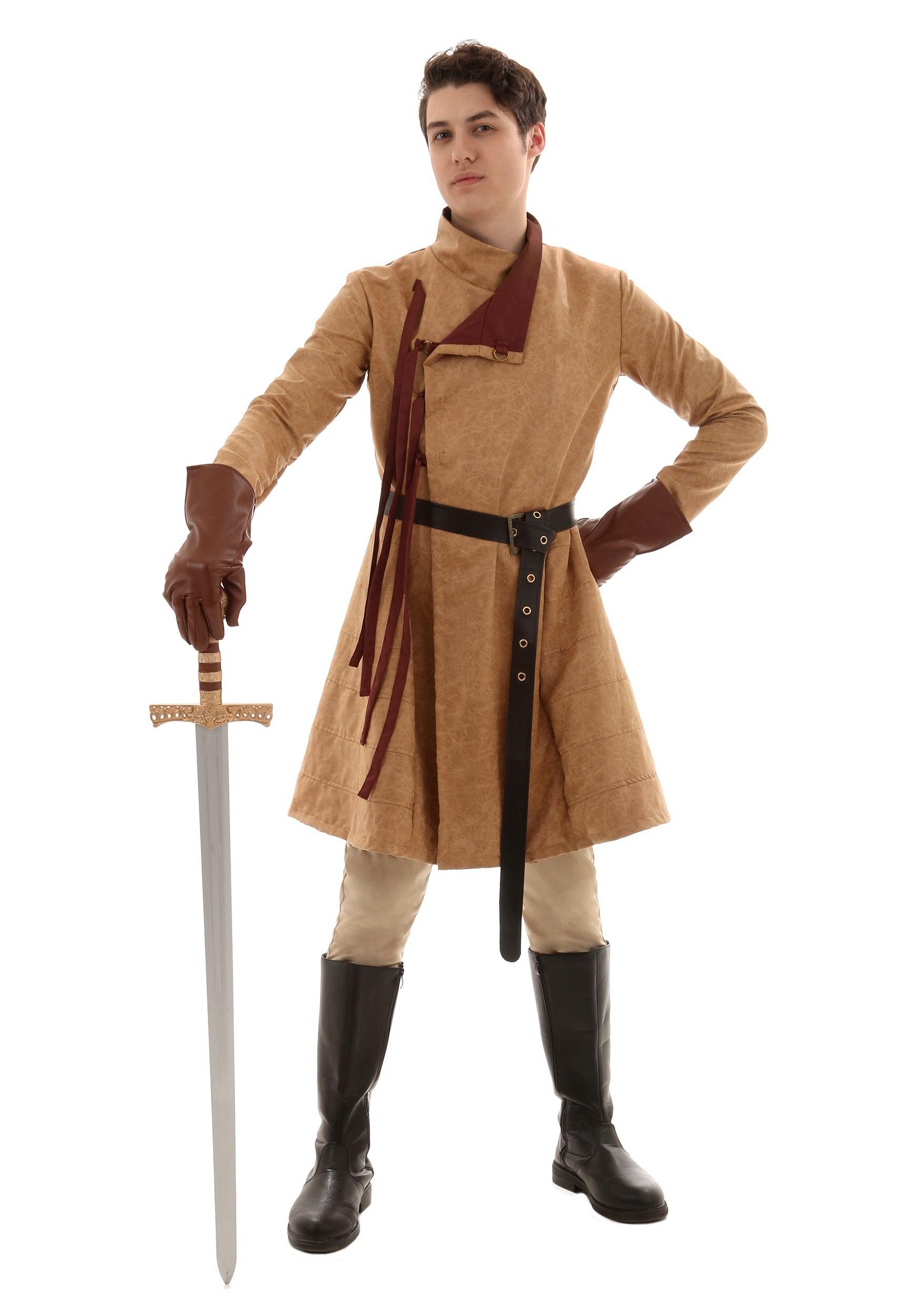 Men's Renaissance Costume Coat