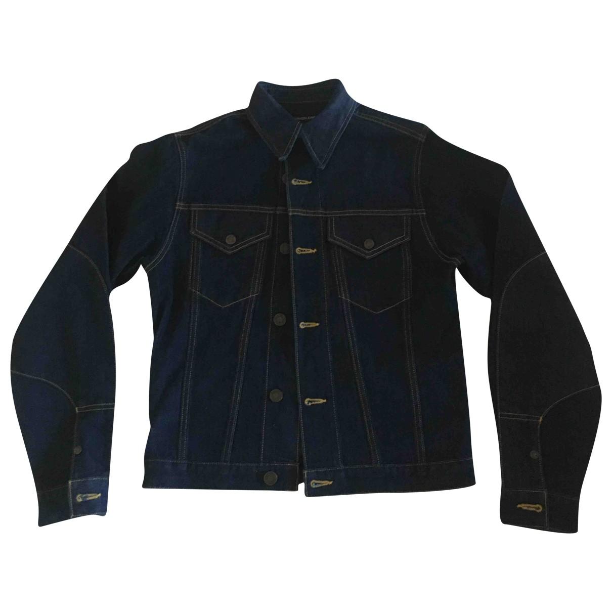 Calvin Klein 205w39nyc \N Jacke in  Marine Denim - Jeans