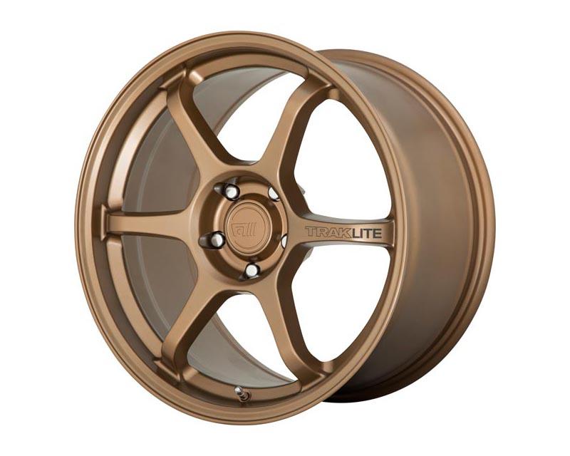 Motegi Traklite 3 Wheel 17x8.5 5X112 42mm Matte Bronze