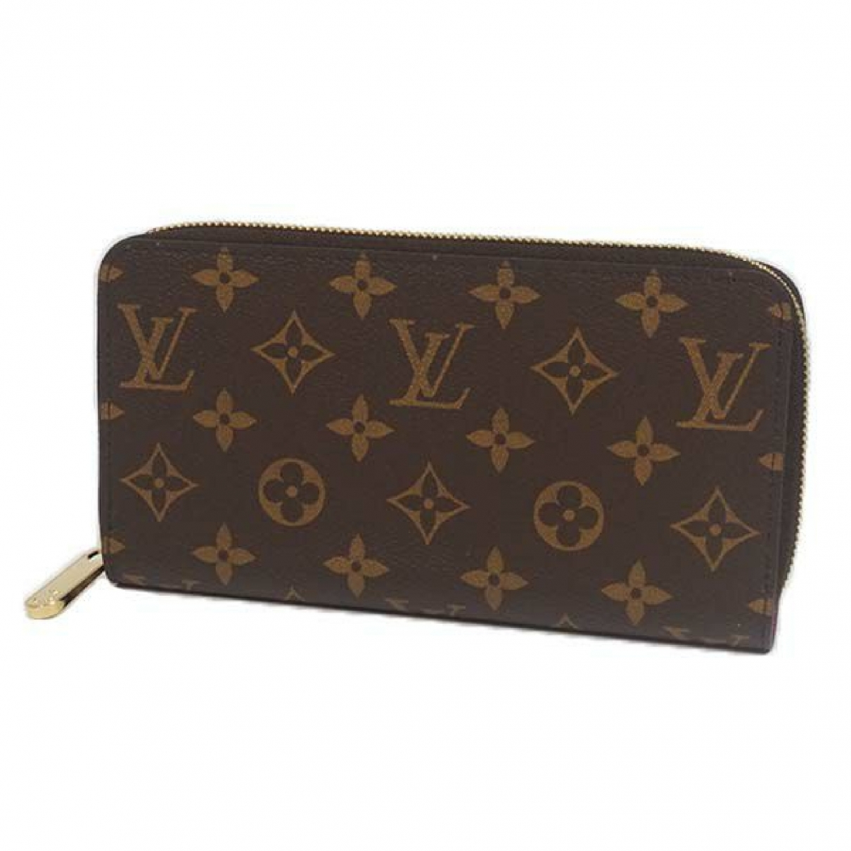 Louis Vuitton Zoe Portemonnaie in  Rosa Leinen