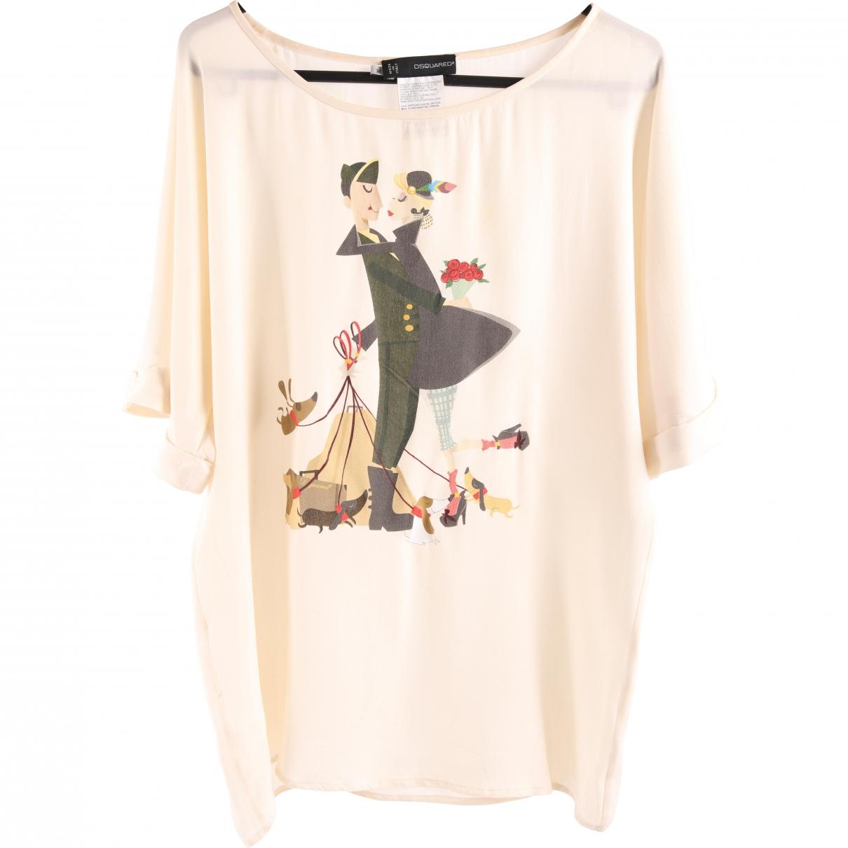Camiseta de Seda Dsquared2