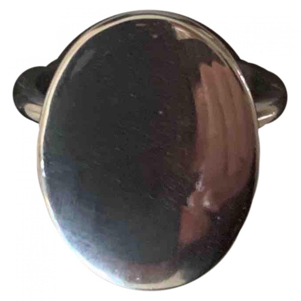 Cos \N Ring in  Silber Metall