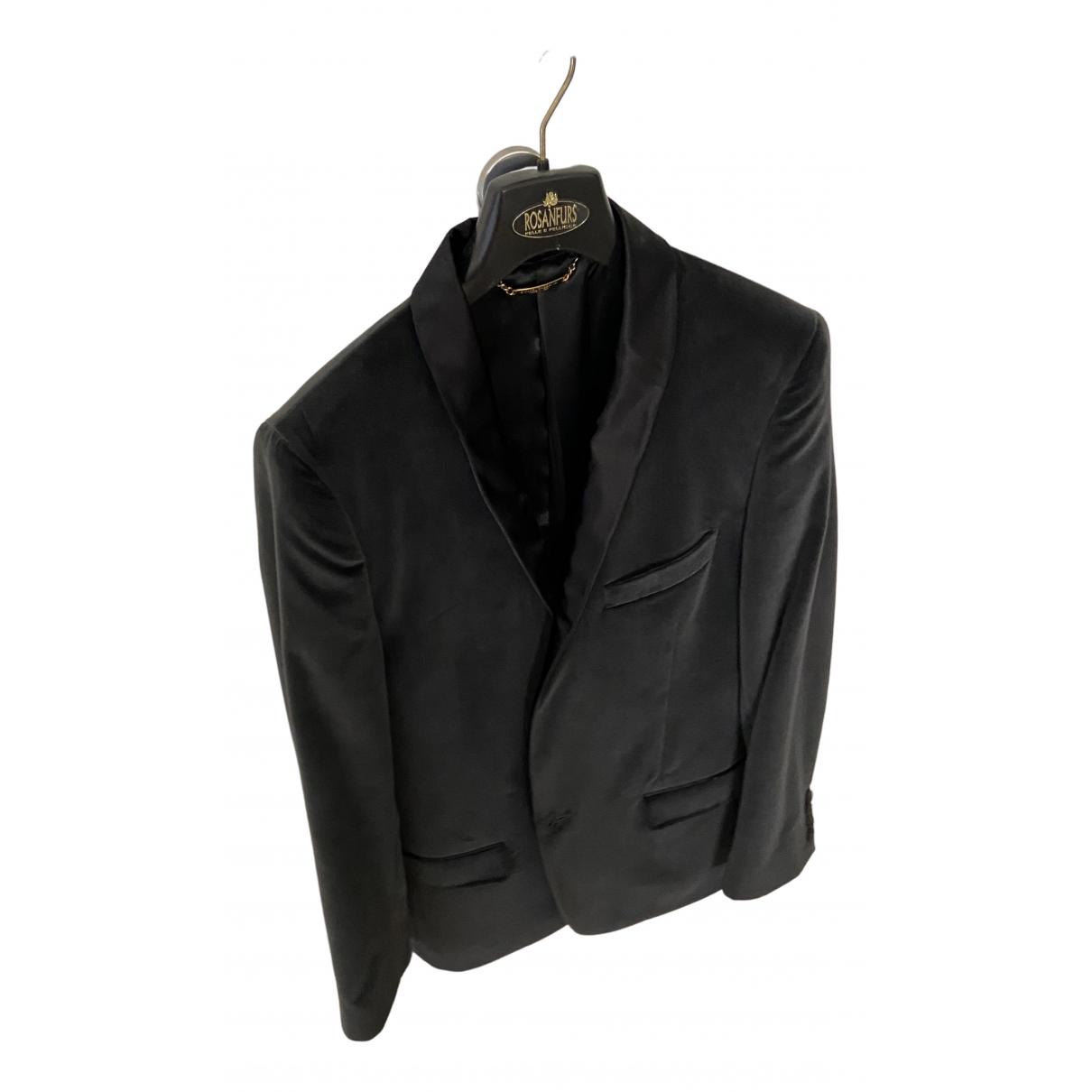 Dolce & Gabbana N Anthracite Velvet jacket  for Men 48 IT