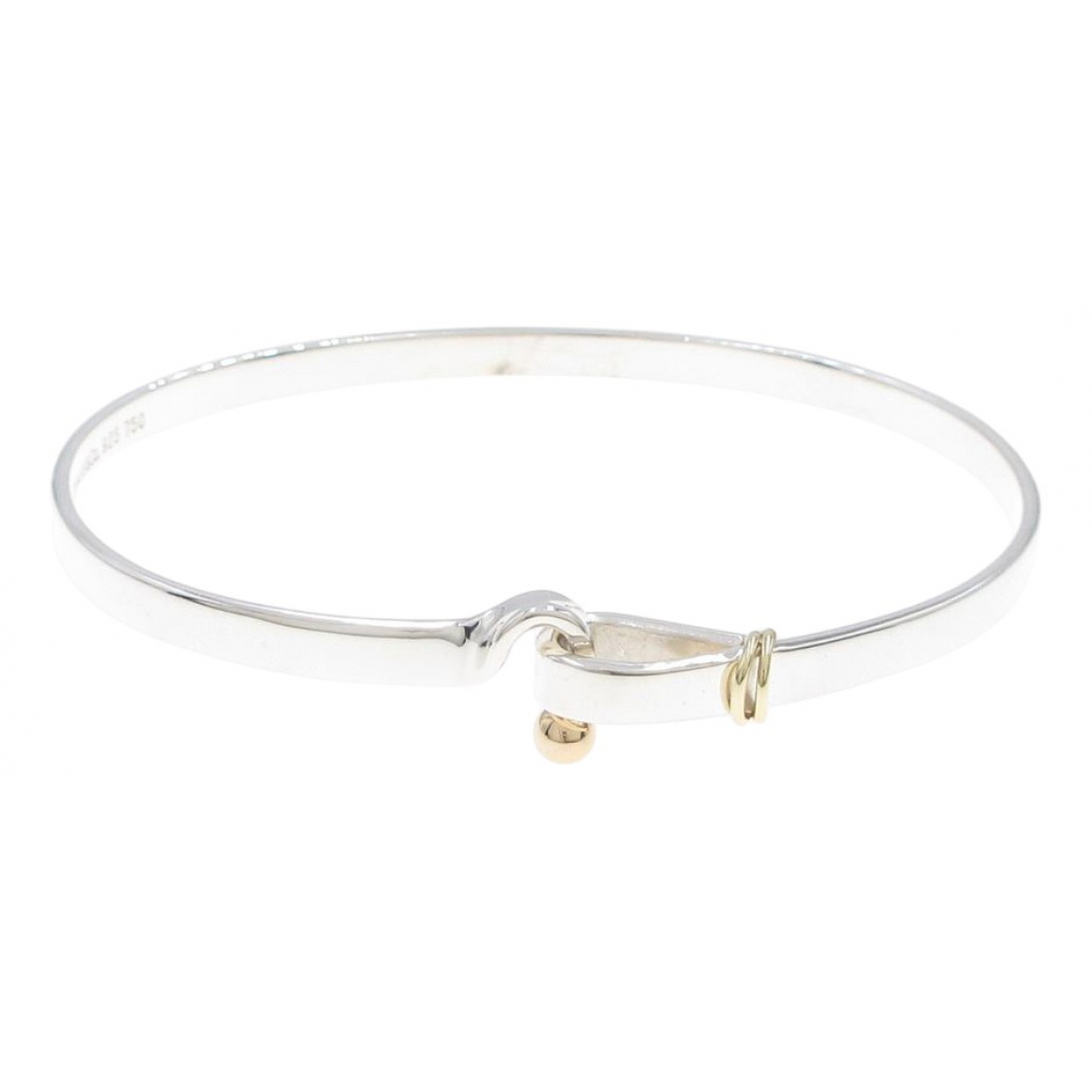 Tiffany & Co \N Silver Yellow gold bracelet for Women \N