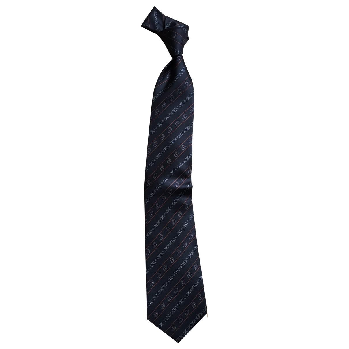 Celine - Cravates   pour homme en soie - bordeaux