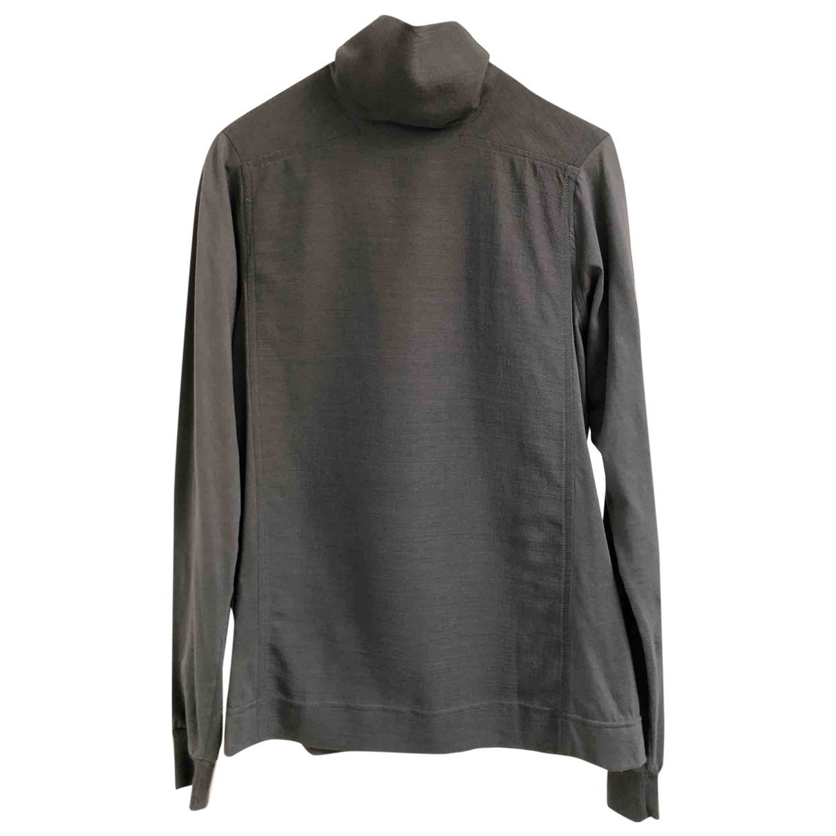 Rick Owens \N Anthracite Cotton T-shirts for Men XS International