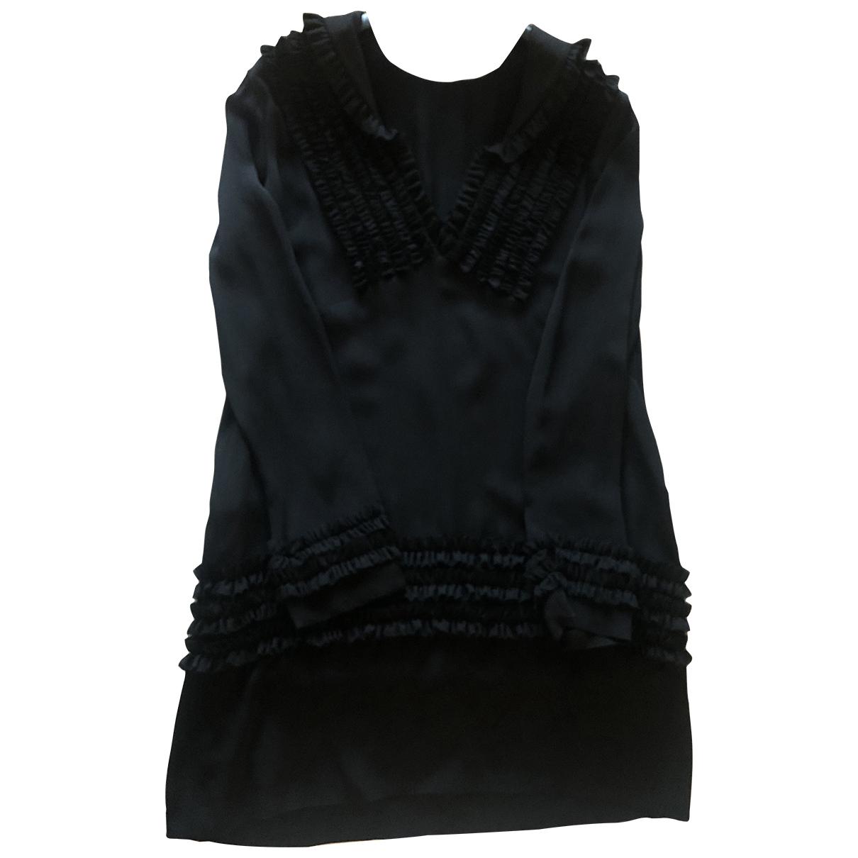 Dsquared2 \N Kleid in  Schwarz Seide