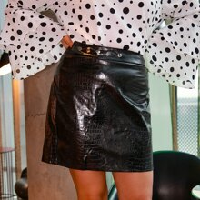 Faldas Extra Grande Cremallera Cocodrilo Glamour