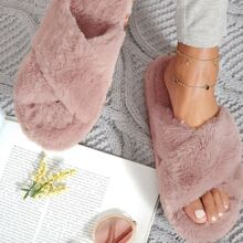 Sandalen mit offener Zehenpartie und Kreuzgurt