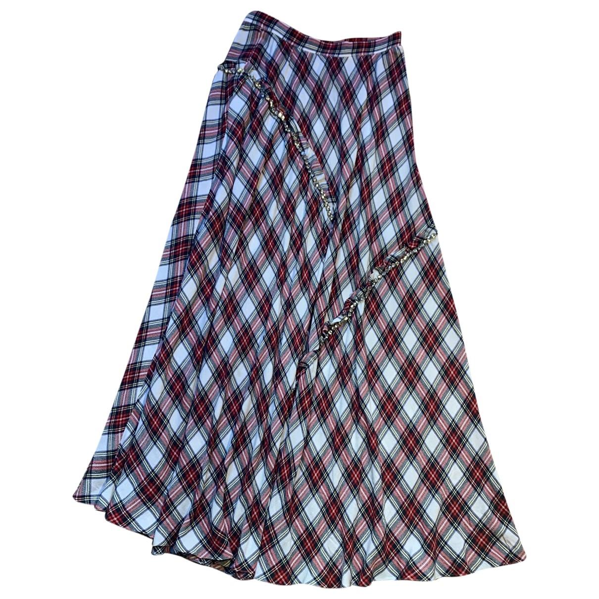 Moschino \N Burgundy skirt for Women 40 IT